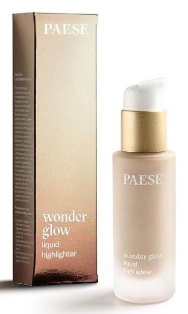 PAESE Wonder Glow Liquid Highlighter Rozświetlacz w płynie OPAL 20ml