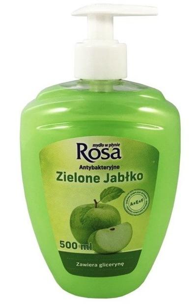 ROSA Mydło w płynie antybakteryjne Zielone Jabłko 500ml