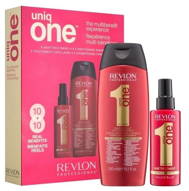 Revlon Uniq One Zestaw Szampon + Spray do włosów 300ml + 150ml