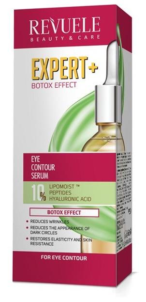 Revuele Expert+botox Wypełniający żel-filler wokół oczu 25ml