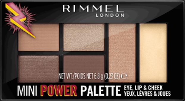Rimmel MINI POWER Palette Paleta do makijażu 001 6,8g