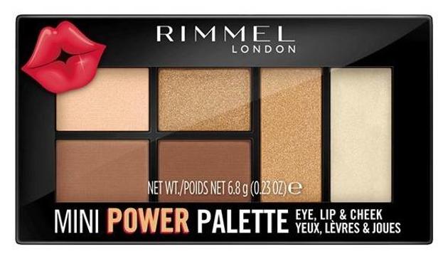 Rimmel MINI POWER Palette Paleta do makijażu 002 6,8g