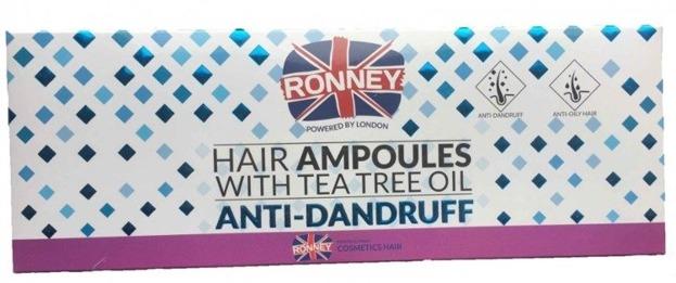 Ronney Hair Ampoules Anti-dandruff Ampułki do włosów 12szt.