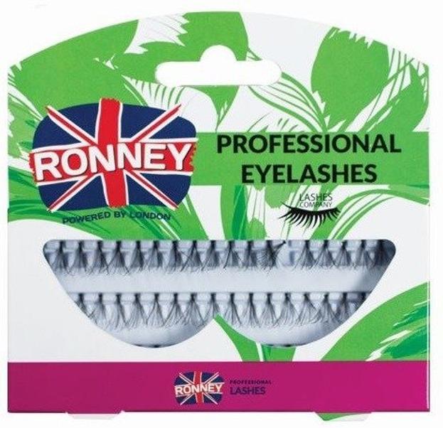 Ronney Professional Eyelashes Kępki sztucznych rzęs z węzełkiem 60 szt. Długie RL 00031