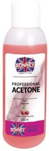 Ronney Professional Nail Acetone Cherry Aceton 500ml