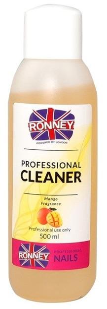 Ronney Professional Nail Cleaner Mango Płyn do odtłuszczania paznokci 500ml