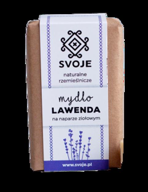 SVOJE mydło Lawenda na naparze ziołowym 100g