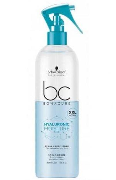 Schwarzkopf BC Hyaluronic Moisture Kick Spray Conditioner - Odżywka nawilżająca do włosów, 400ml