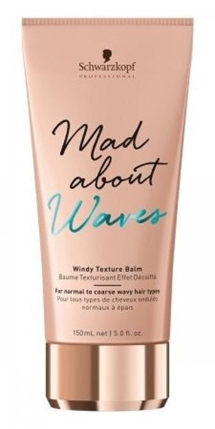 Schwarzkopf Mad About Waves Texture Balm Balsam do włosów przeciw puszeniu 150ml