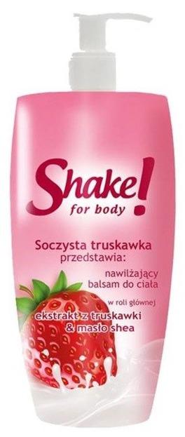 Shake for Body Nawilżający balsam do ciała Truskawka 300ml