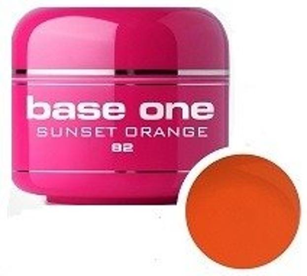 Silcare Base One 82 Sunset Orange Żel kolorowy 5g