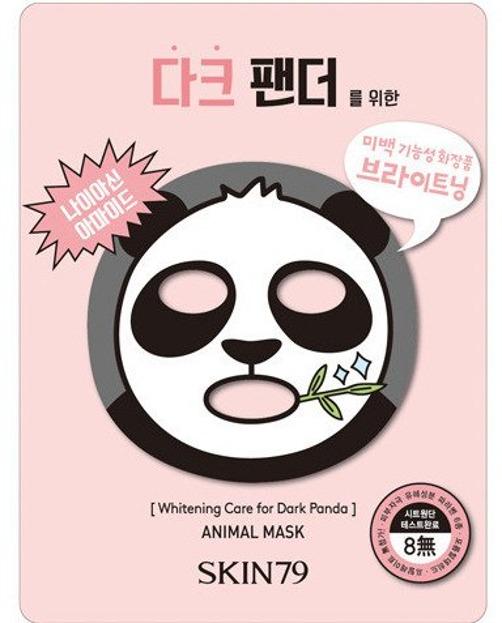 Skin79 Animal For Dark Panda - Maska wybielająca do twarzy 23g