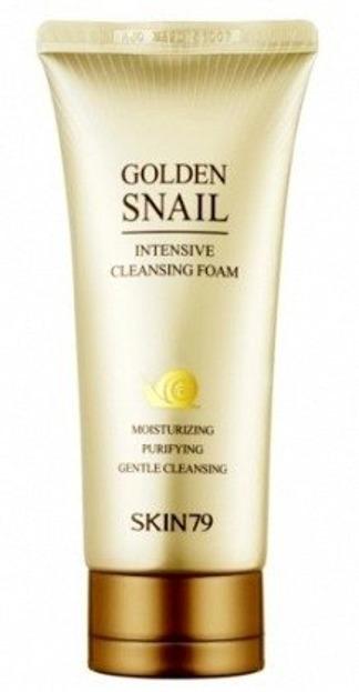 Skin79 Golden Snail Intensive Cleansing Foam - Pianka do twarzy z ekstraktem ze ślimaka 125g