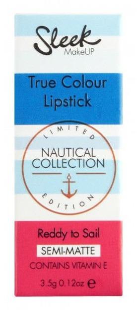 Sleek True Colour Lipstick - Szminka do ust  Reddy to sail 086