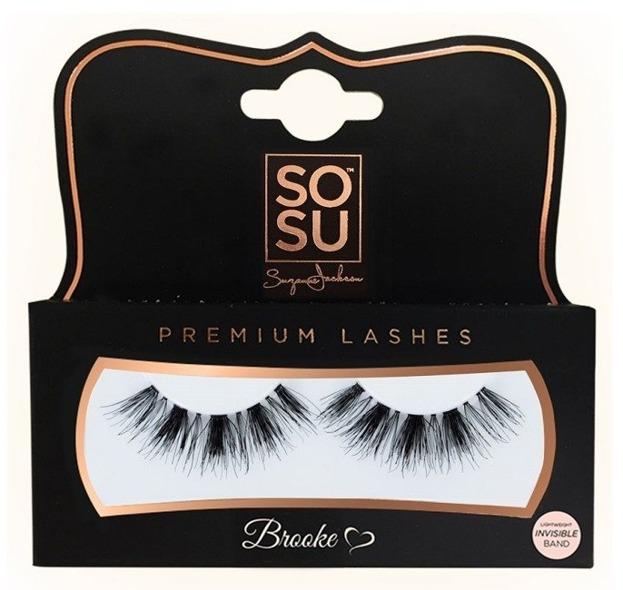 Sosu Sztuczne rzęsy Premium Brooke 100% naturalne