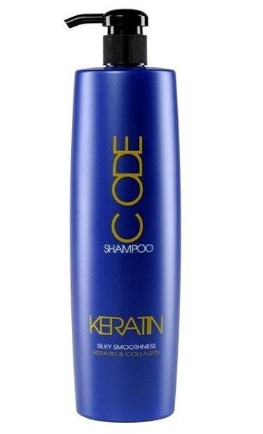 Stapiz Keratin Code Shampoo Keratynowy Szampon Wzmacniająco - Odbudowujący 1000 ml