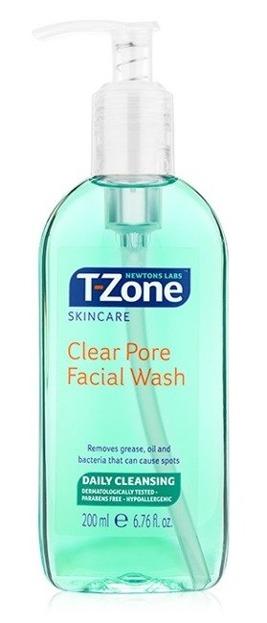 T-Zone Skincare Clear Pore Facial Wash Antybakteryjny żel do mycia twarzy 200ml
