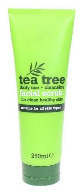 Tea Tree Facial Scrub Peeling do twarzy z wyciągiem z drzewa herbacianego, 250 ml