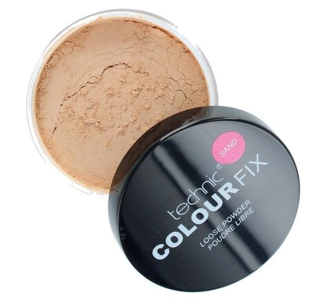 Technic Colour fix Loose Powder Puder sypki Sand 20g