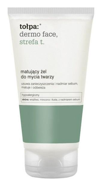 Tołpa Dermo Face STREFA T Matujący żel do mycia twarzy
