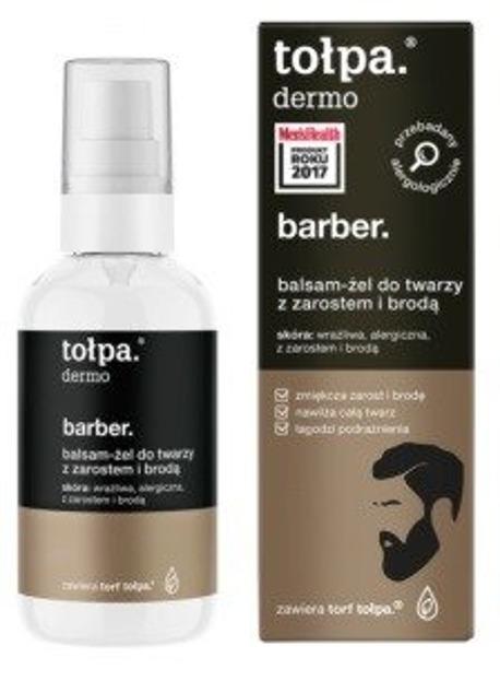 Tołpa Dermo Men Barber Balsam-żel do twarzy z zarostem lub brodą 75ml