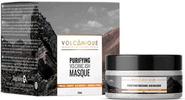 Volcanique maska odmładzająca z popiołem wulkanicznym 100ml