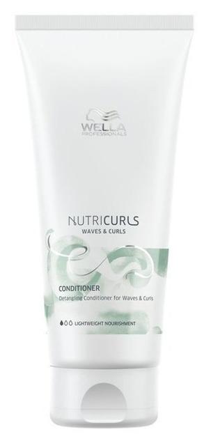 Wella NutriCurls Waves&Curls Odżywka do włosów kręconych ułatwiająca rozczesywanie 200ml