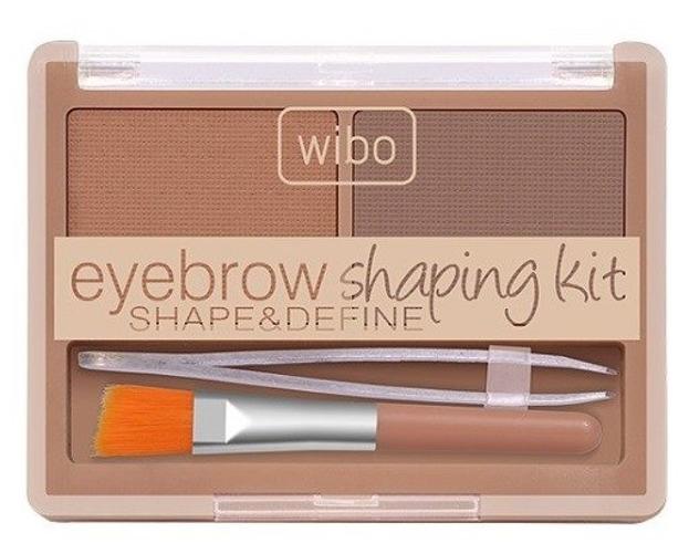 Wibo Eyebrow Shaping Kit Zestaw do stylizacji brwi Light