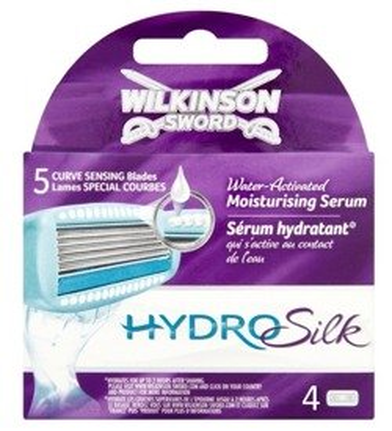 Wilkinson Hydro Silk Women Wkłady do maszynki 4szt