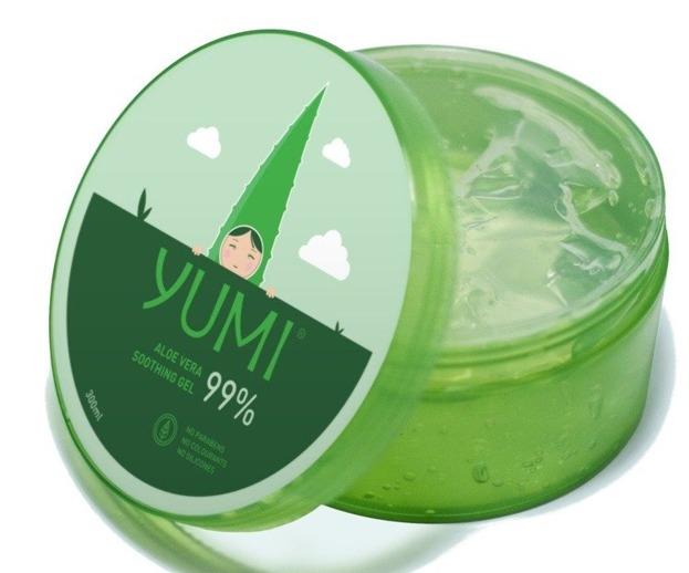 YUMI Aloe Vera Soothing Gel 99% Wielofunkcyjny żel aloesowy 300ml
