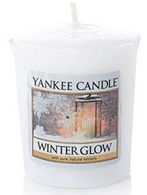 Yankee Candle Sampler Świeca Winter Glow 49g