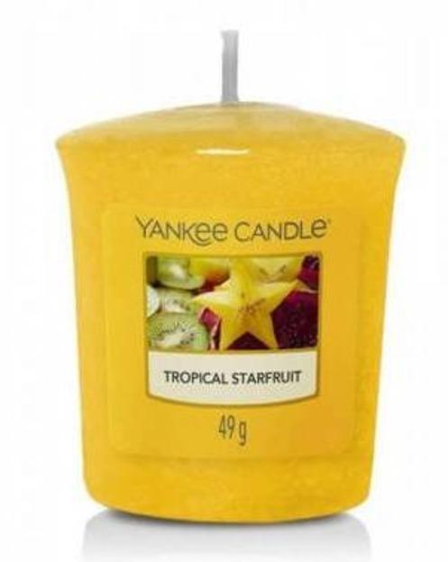 Yankee Candle Świeca zapachowa votive Tropical Starfruit 49g