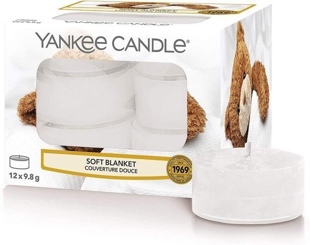 Yankee Candle Tealight Podgrzewacze Soft blanket 12szt