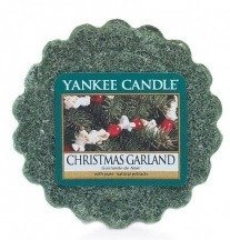 Yankee Candle Wosk Christmas Garland
