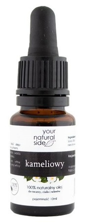 Your Natural Side Olej kameliowy 10ml  Pipeta