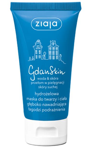 Ziaja GdanSkin Maska hydrożelowa do twarzy i ciała 50ml