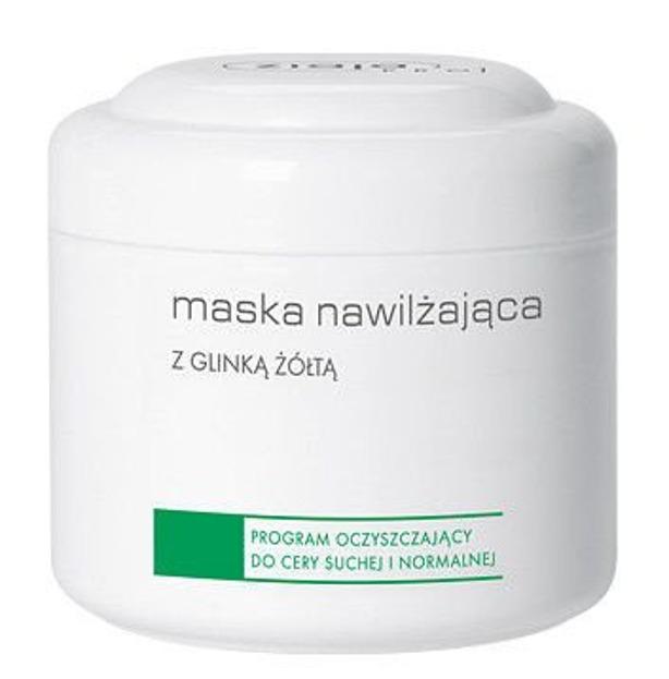 Ziaja Pro- Maska nawilżająca z glinką żółtą - 200 ml