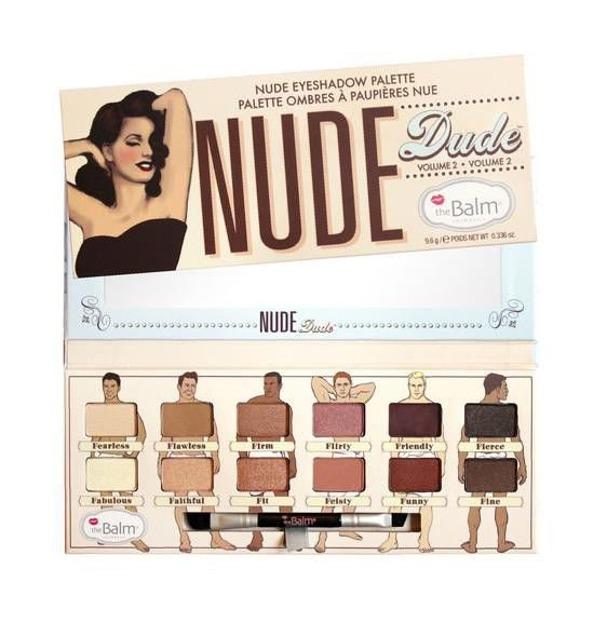 theBalm Nude Eyeshadow Palette Nude Dude Volume 2 - Paletka 12 cieni do powiek